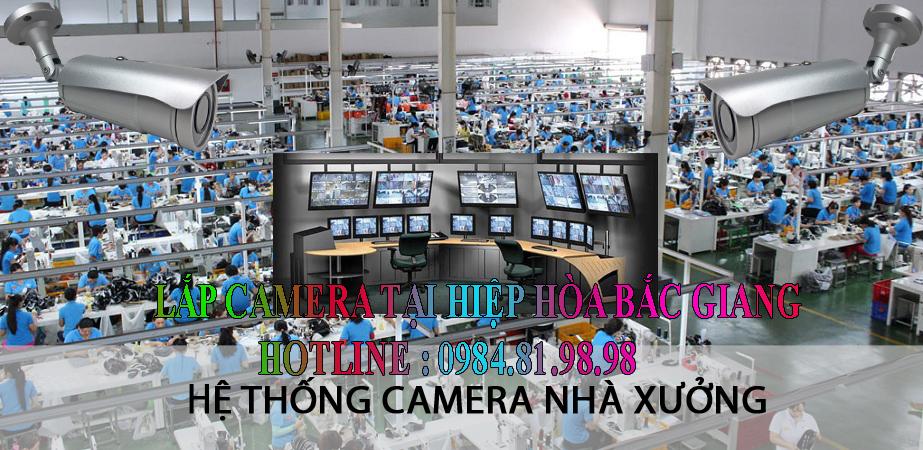 Lắp camera tại hiệp hòa bắc giang