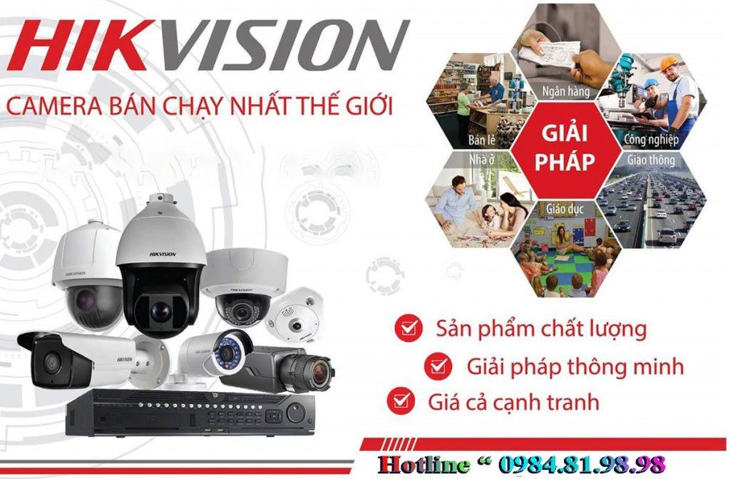 giá lắp camera hikvision tại bắc giang