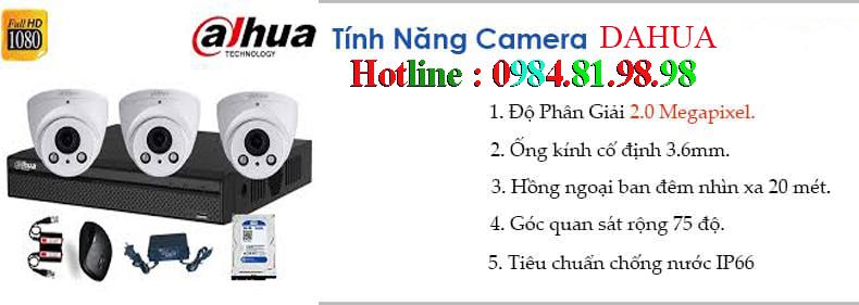 giá lắp camera dahua tại bắc giang