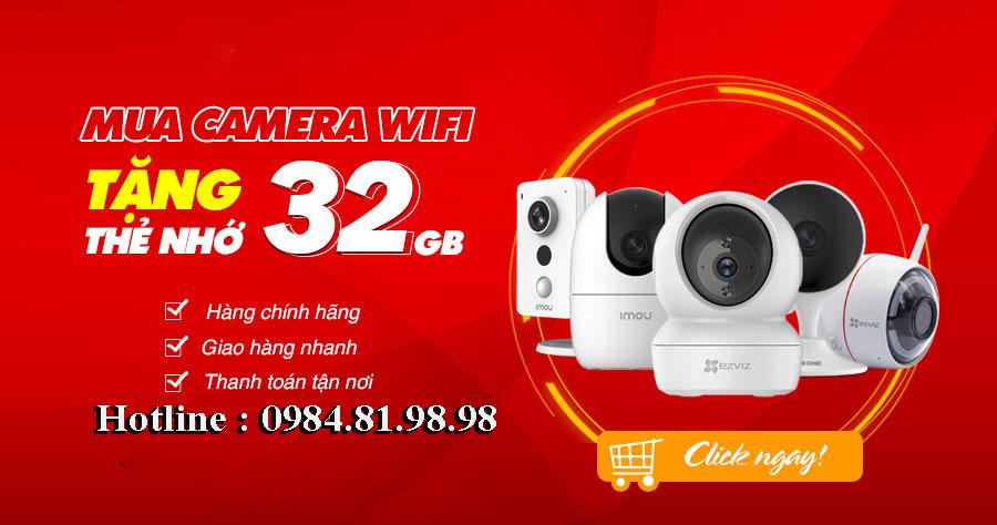 giá lắp camera wifi tại bắc giang